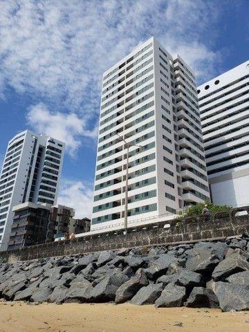 JS- Lindo apartamento na beira mar de Casa Caiada com 95m² - 03 Suítes - Foto 4