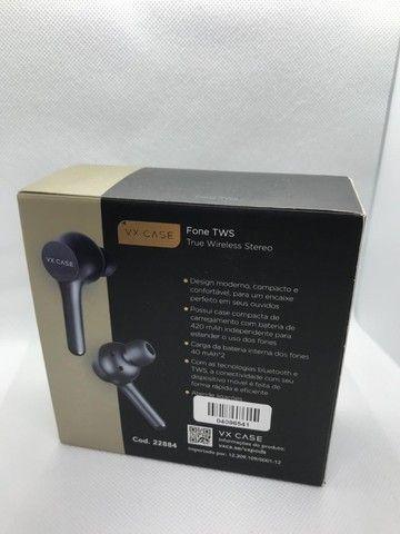 Fones de Ouvido Bluetooth TWS Vx Pods - Preto  - Foto 5