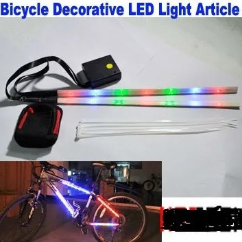 Led decorativo bicicleta Bike LL81214 1.5m 15 Led  - Foto 2