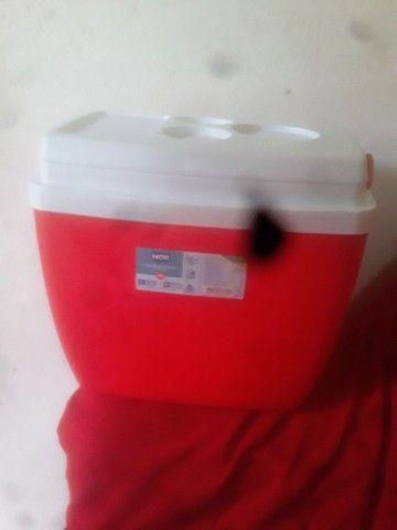 Vendo culler novo vermelho