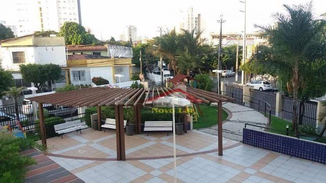Apartamento com 3 dormitórios para alugar, 113 m² por R$ 1.800,00/mês - Fátima - Fortaleza - Foto 9