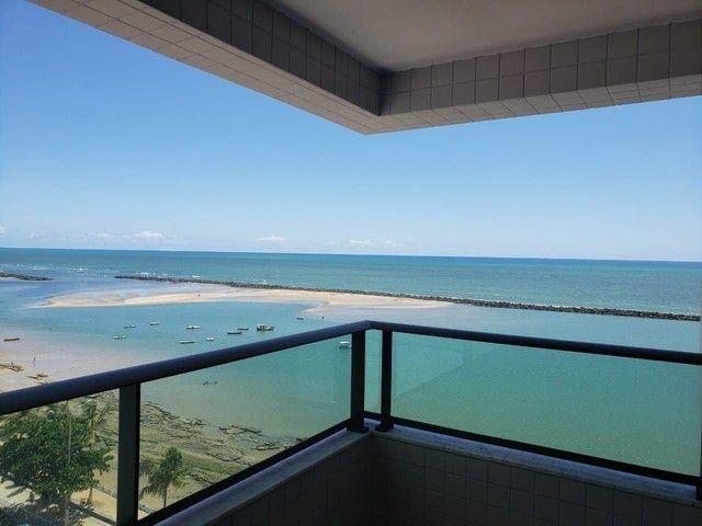 JS- Lindo apartamento na beira mar de Casa Caiada com 95m² - 03 Suítes - Foto 2