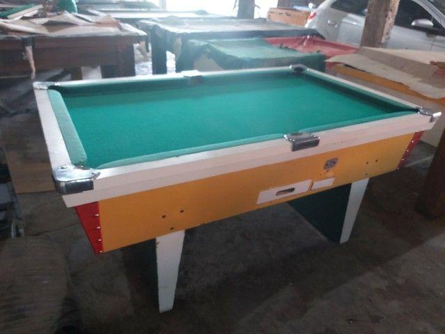 Snooker (Sinuca) reformada completa com jogo de bola etc, tudo na descrição  - Foto 2