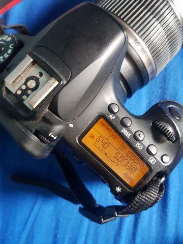 Camera canon 60d + lentes + acessórios  - Foto 2