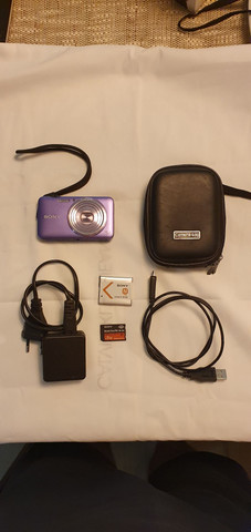Câmera Sony Cybershot DSC-wx7 funcionando perfeitamente!!!