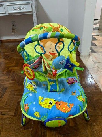 Cadeira de Descanso Baby Style Lite Aqua - 0 a 11kg - Foto 4