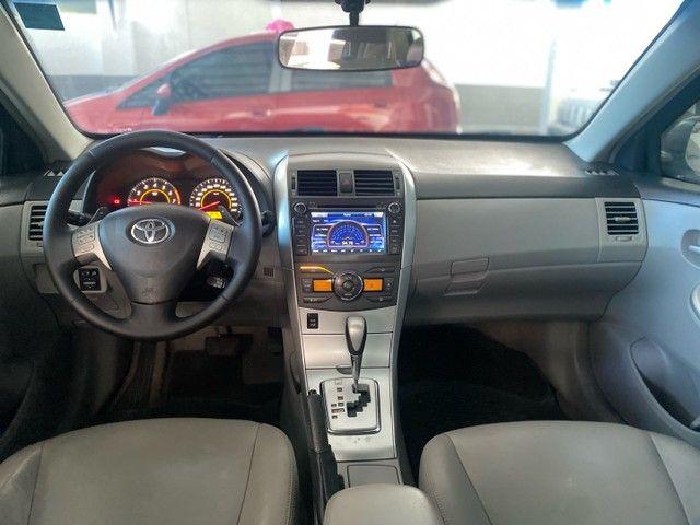 Corolla Xei 2.0 aut 2013 BLINDADO  - Foto 10