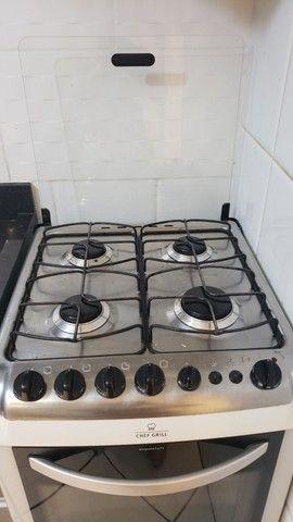 Fogão 4 bocas eletrolux chef grill.  - Foto 3