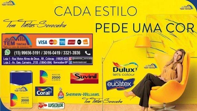 @@Promoção Relâmpago - Tinta Acrílica de 16 L- Cobre 1x de mão - De: R$95,00 por 65,00