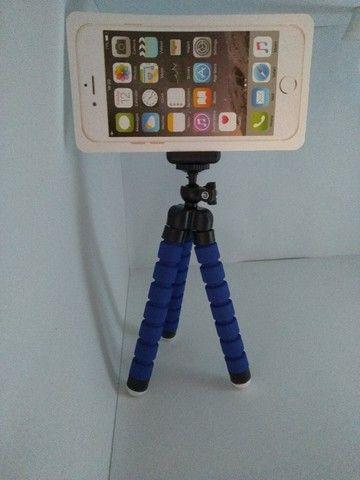 Mini tripé flexível para celular, smartphone, câmera digital (Aceitamos Cartões)