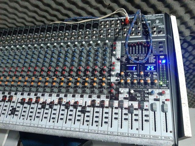 Mesa analogica eurodesk sx3242fx 32 canais  - Foto 2