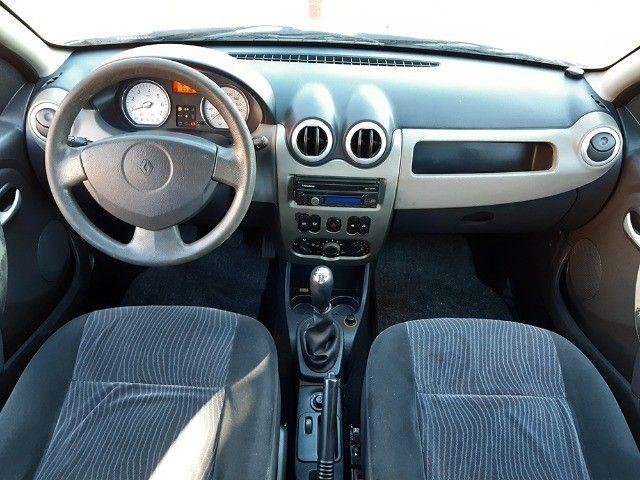 Sandero Privilege 1.6 8V Completo 2009 - Aceito Troca - Financio 100% - Foto 8