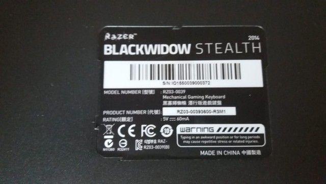 Teclado Mecanico Razer Blackwidow Stealth - Foto 3