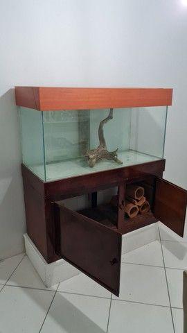 Aquario de 360 litros com móvel  - Foto 3