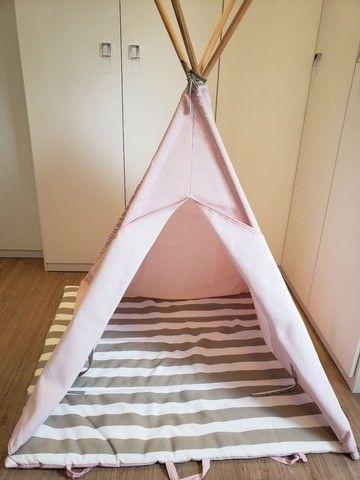 Cabana infantil decorativa rosa - Foto 4
