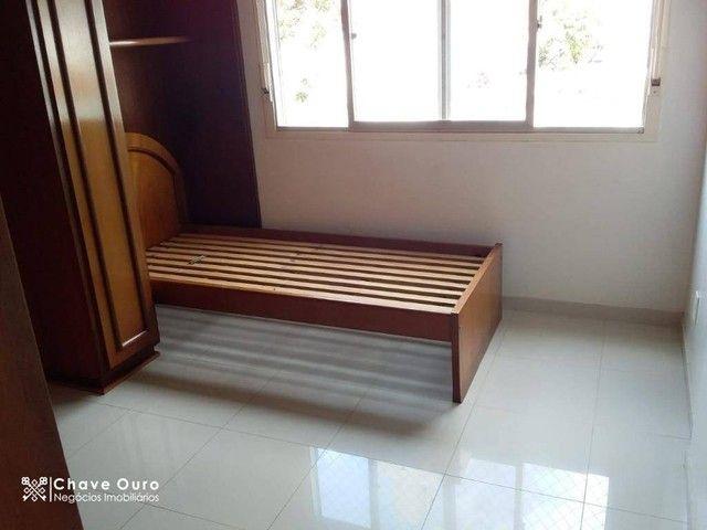 Apartamento com 2 dormitórios para alugar, 95 m² por R$ 1.100,00/mês - Centro - Cascavel/P - Foto 6