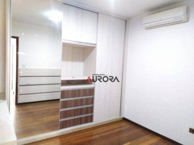 Sobrado com 4 dormitórios para alugar, 370 m² por R$ 5.700,00/mês - Araxá - Londrina/PR - Foto 15