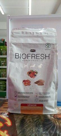 Vendo Ração Biofresh Sênior Raças Pequenas 1 kg por 45,00