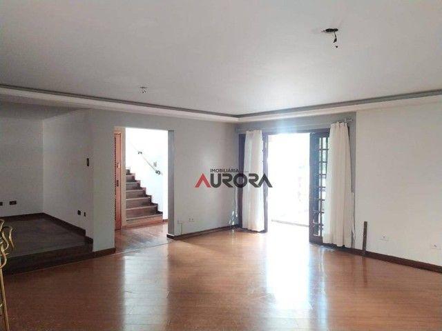 Sobrado com 4 dormitórios para alugar, 370 m² por R$ 5.700,00/mês - Araxá - Londrina/PR - Foto 6