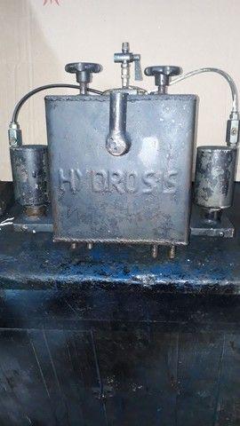 Caixa hidráulico  pneumática  dulpo efeito   e sistema manal tanbem - Foto 3