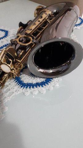 SAX saxofone EAGLE SA 500 onix lindo  - Foto 5