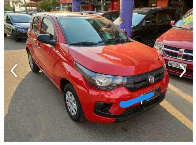 Fiat mobi 1.0 easy vermelho