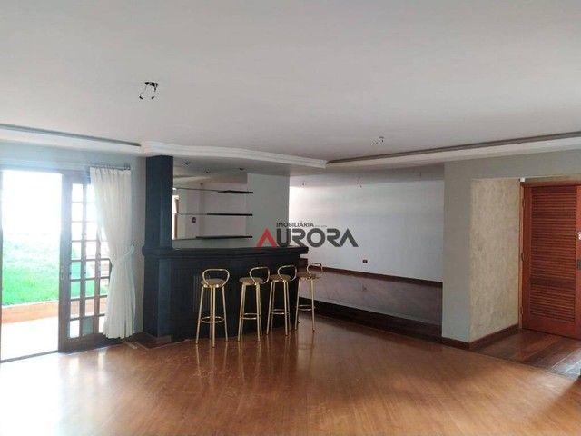 Sobrado com 4 dormitórios para alugar, 370 m² por R$ 5.700,00/mês - Araxá - Londrina/PR - Foto 9