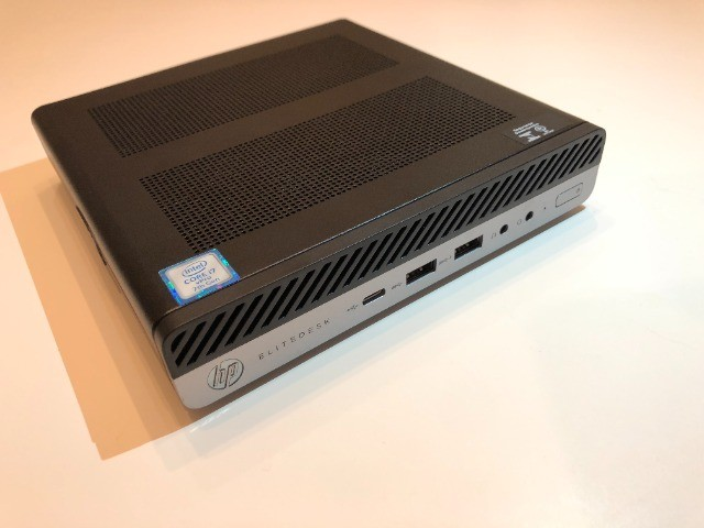 PC Desktop HP EliteDesk 800 G3 Mini/65W - i7 vPro /16GB Ram DDR4 /256Gb SSD  - Foto 3