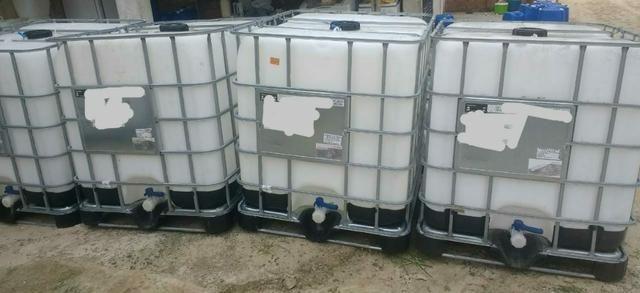 Container IBC Bombona plástica Tanque Contentor de 1000 litros