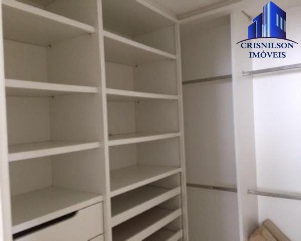 Casa à venda condomínio alphaville i salvador, decorada, 4 suítes, r$ 2.500.000,00, piscin - Foto 16