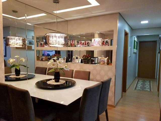Res. Allegro 3 quartos 84m², varanda, 2 vagas subsolo, armários - Foto 4