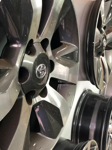 Rodas Aro 17 Toyota Hilux Original SRV Graphite Diamond - Foto 20