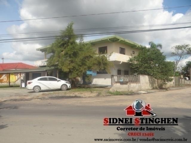 Sobrado comercial e residencial, com excelente localização e frente à lagoa, em bal. barra - Foto 2