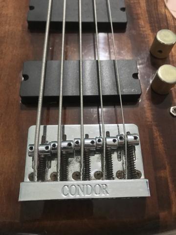 Baixo Condor XB25A CAPS EMG + PRE EMG - Foto 5
