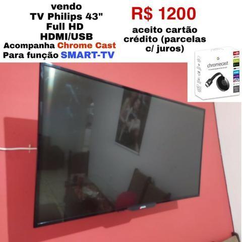 Televisão 43 polegadas Philips