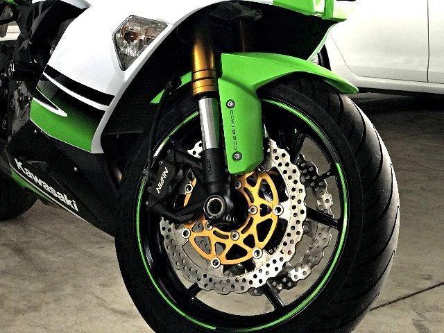 Kawasaki Ninja ZX 6R 636. Verde 2014/2015 - Foto 6