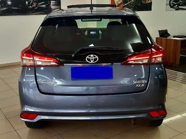 Toyota Yaris Xls 1.5 2018/2019, automático, teto solar, único dono, garantia de fábrica - Foto 3