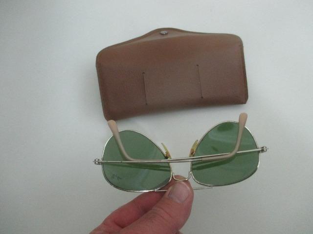 9b211eecd Óculos rayban aviador antigo com case peça vintage anos 1980 - Foto 3