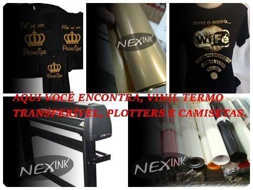 Vinil termo transfer para camisetas Joinville