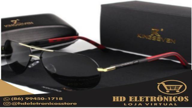 c4a8347e498da Óculos De Sol Masculino Original Kingseven Promoção - Bijouterias ...