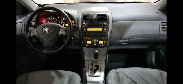 Corolla XEI 2.0 flex aut 2011 - Foto 10