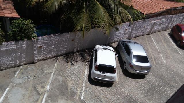 Apartamento Barra de São Miguel, 2 quartos c/ ar condicionado, varanda e piscina - Foto 13