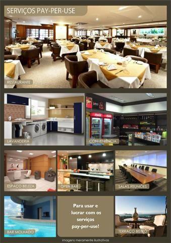 Apartamento Flat no Guarujá, 55m2 , Varanda Grill, Mobiliado a Preço de Custo! - Foto 9