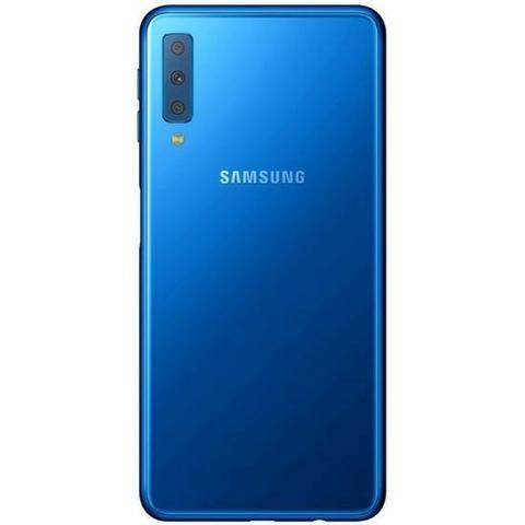 """Smartphone Samsung Galaxy A7 (2019) SM-A750gn LTE Dual Sim 6.0"""" 128GB/4GB - Blue - Foto 2"""