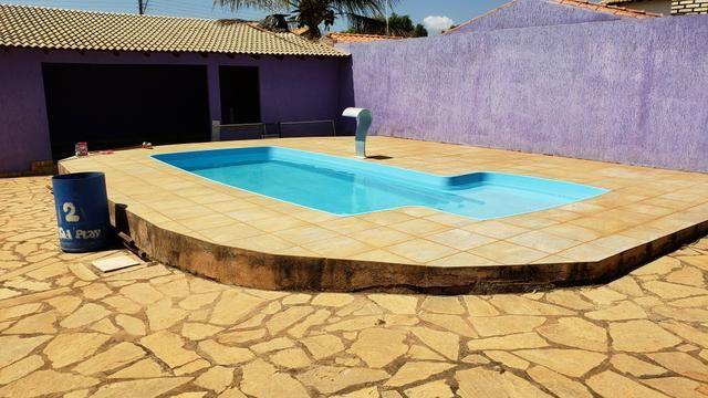 Casa 3quartos suíte piscina churrasqueira lote 830m2 rua 8 Vicente Pires condomínio - Foto 3