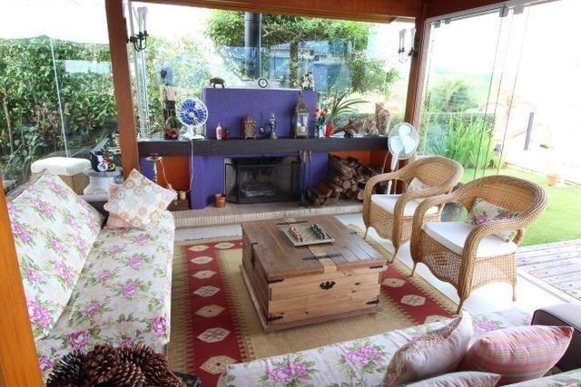 Casa térrea com 4 suítes com vista para represa em Condomínio 3 Marias - Foto 13