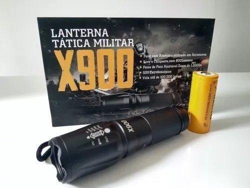 Lanterna Tática/Caça E Pesca/ Modelo: X900