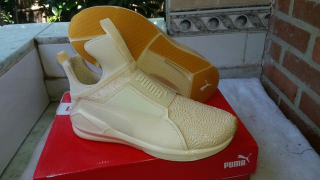official photos bed71 57836 Tênis Puma 35 sneakers cor bege TAM 35