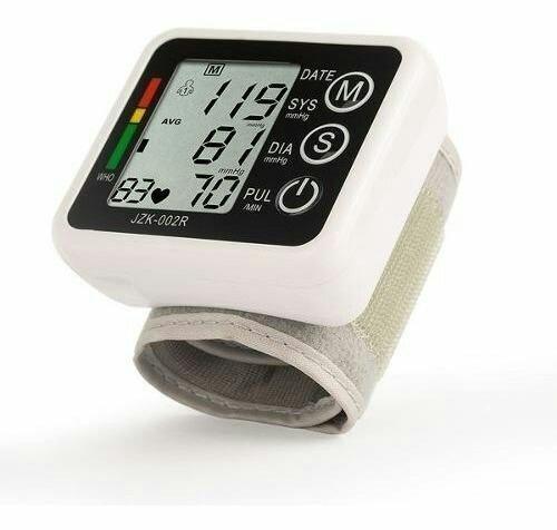 Medidor De Pressão Arterial Digital Monitor Cardíaco Lcd - Foto 2