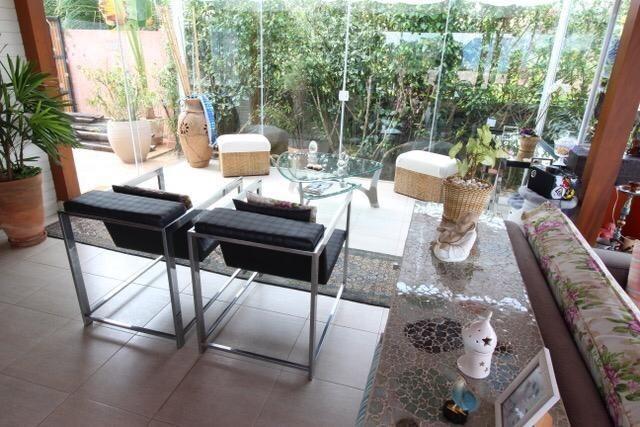 Casa térrea com 4 suítes com vista para represa em Condomínio 3 Marias - Foto 16